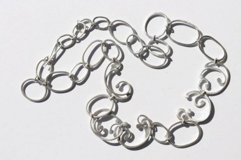 long baroque necklace