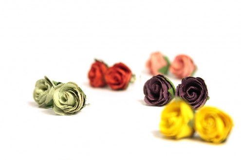Mixed-colour-rosebud-studs