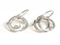 Baroque links earrings