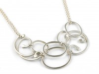 Baroque Cluster Necklace